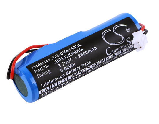 CROOVE B0143KH9KG Amplifier Compatible Battery